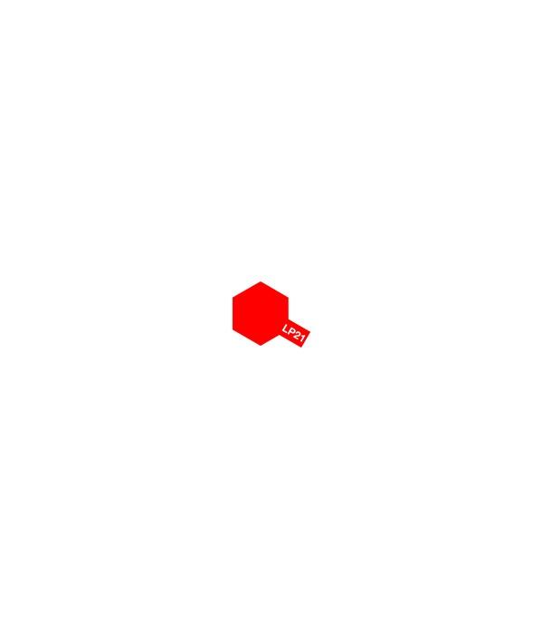 LP-21 Italian Red (Красная) краска 10 мл. TAMIYA 82121
