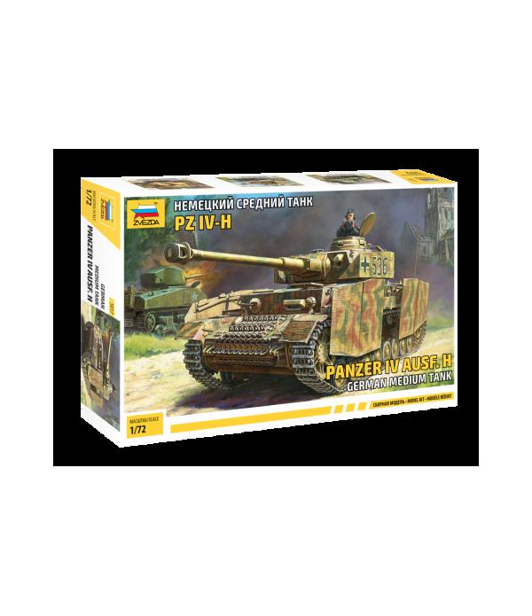 Немецкий средний танк Т-IV H ЗВЕЗДА 5017