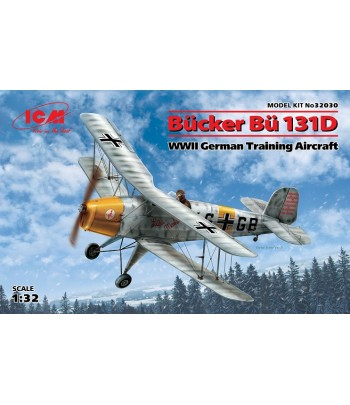 Bücker Bü 131D, Германский учебный самолет ІІ МВ ICM 32030
