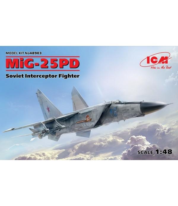 МиГ-25ПД, Советский истребитель-перехватчик ICM 48903