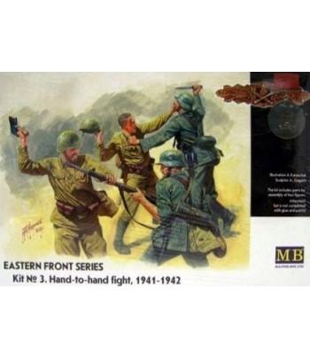 """Фигуры """"Рукопашная"""", восточный фронт, 1941 MASTERBOX 3524"""