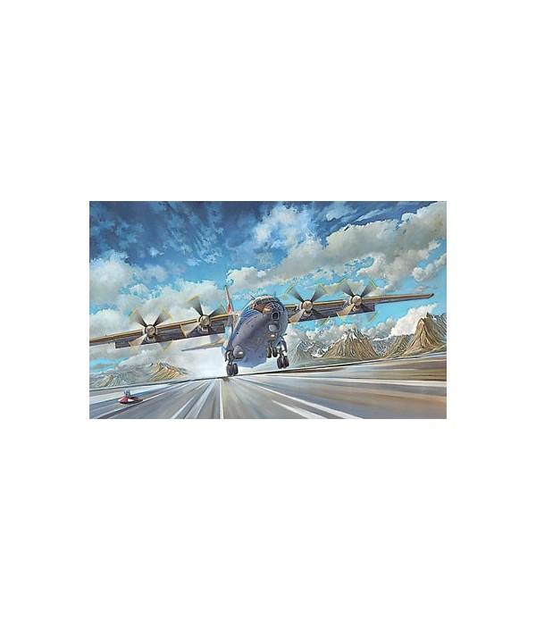 Советский Военно-Транспортный Самолет 12-B RODEN 048