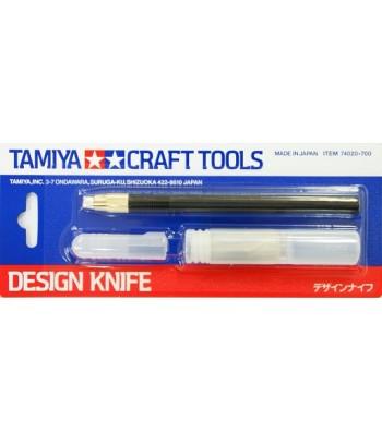 Дизайнерский нож с 30 дополнительными лезвиями TAMIYA 74020