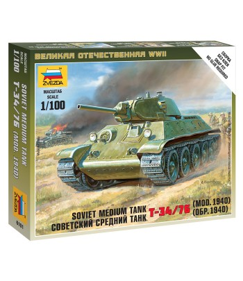 Советский средний танк Т-34/76 (обр. 1940) ЗВЕЗДА 6101