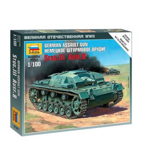 Немецкое штурмовое орудие Stug.III Ausf.B ЗВЕЗДА 6155