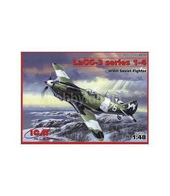 ЛаГГ-3 1 серии, совесткий истребитель II Мировой войны ICM 48091
