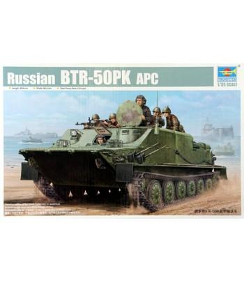 Российский бронетранспортёр БТР-50ПК TRUMPETER 01582
