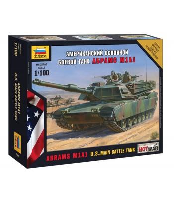 Американский основной боевой танк Абрамс М1А1 ЗВЕЗДА 7405