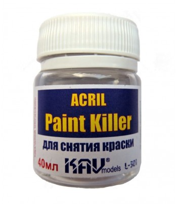 Acril Paint Killer KAVmodels KAV L301
