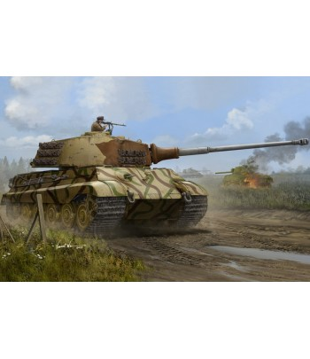 Pz.Kpfw.VI Sd.Kfz.182 Tiger II (Henschel July-1945 Production) HOBBY BOSS 84533