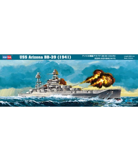 USS Arizona BB-39 (1941) HOBBY BOSS 86501