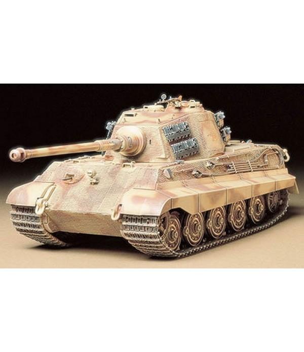 """Танк KING TIGER """"Production Turret"""" с 1 фигурой TAMIYA 35164"""