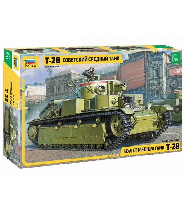 Советский средний танк Т-28 ЗВЕЗДА 3694