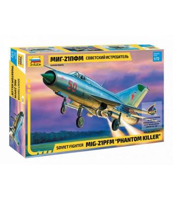 Советский истребитель МиГ-21ПФМ ЗВЕЗДА 7202