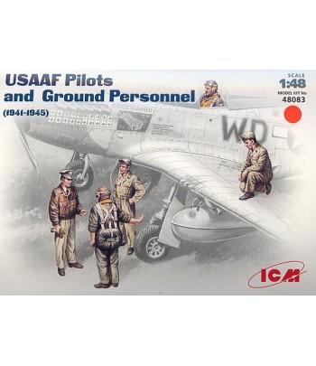 Пилоты и техники ВВС США (1941-1945) ICM 48083