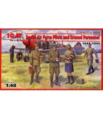 Пилоты и техники ВВС СССР (1943-1945) ICM 48084
