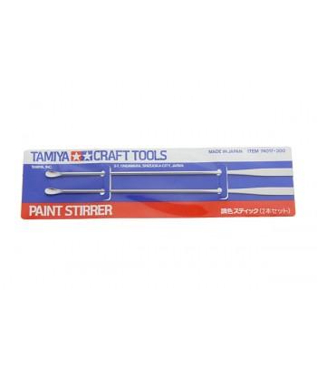 Ложечка-шпатель для смешения красок и нанесения шпаклевки (2шт, длина 150 мм) TAMIYA 74017