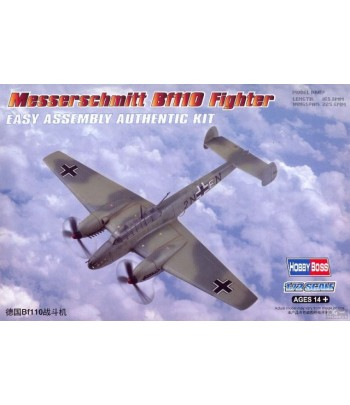 Самолет Messerschmitt Bf110 Fighter HOBBY BOSS 80292