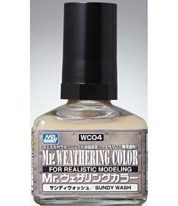 WC04 Смывка MR.WEATHERING COLOR 40 мл GUNZE SANGYO