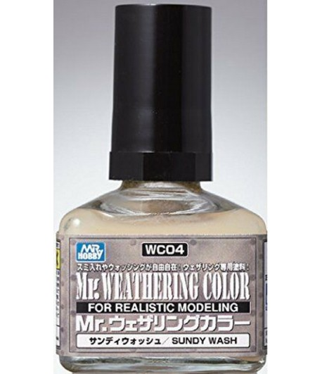 WC04 Смывка MR.WEATHERING COLOR 40 мл GUNZE SANGYO
