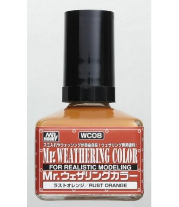 WC08 Смывка MR.WEATHERING COLOR 40 мл GUNZE SANGYO