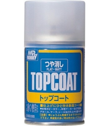 B-503 Лак-спрей Mr.Top Coat - flat Spray 86 мл GUNZE SANGYO