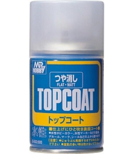 B-503 Лак-спрей Mr.Top Coat - flat Spray 86 мл GUNZE SANGYO