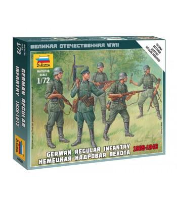 Немецкая кадровая пехота 1939-1943 ЗВЕЗДА 6178