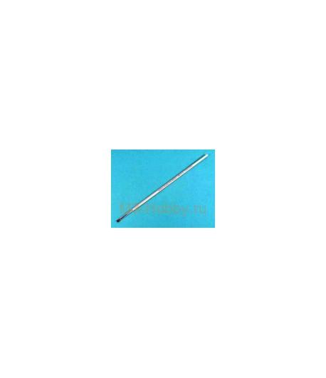 Кисть плоская №1 (4 мм, (конский волос) TAMIYA 87028