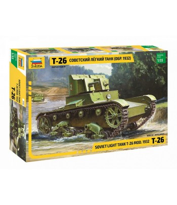 Советский легкий танк Т-26 (обр. 1932г.) ЗВЕЗДА 3542