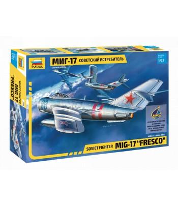 Советский истребитель Миг-17 ЗВЕЗДА 7318