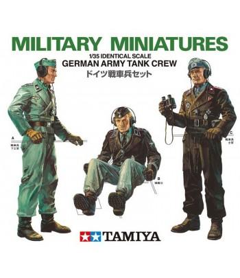 Немецкие танкисты 3 фигуры TAMIYA 35001