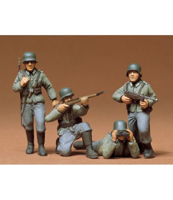 Немецкие пехотинцы 4 фигуры TAMIYA 35002