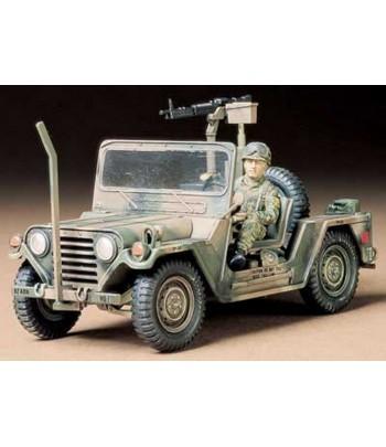 Американский джип M151A2 Ford Mutt с М60 и фигурой водителя TAMIYA 35123