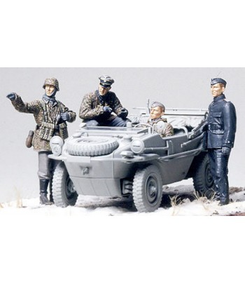 Немецкие командиры на рекогносцировке 4 фигуры TAMIYA 35253