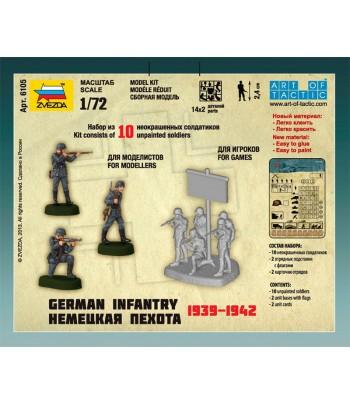 Немецкая пехота 1939-1942 ЗВЕЗДА 6105