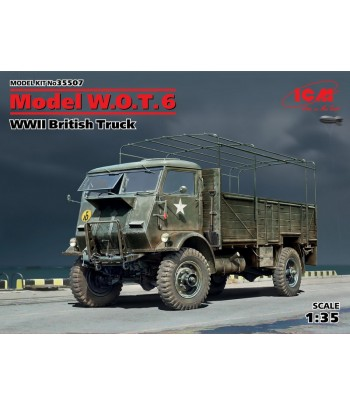 Model W.O.T. 6, Британский грузовой автомобиль ІІ МВ ICM 35507