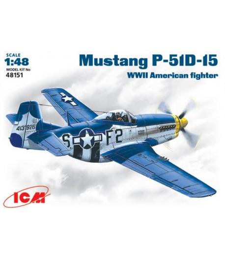 Американский истребитель Mustang P-51 D-15 ICM 48151