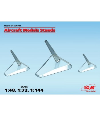 Подставки для моделей самолетов (1:48, 1:72, 1:144) ICM A001