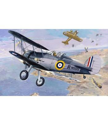 Самолёт Gloster Sea Gladiator RODEN 405