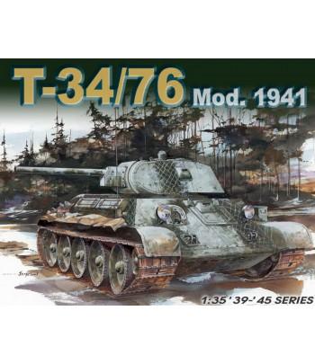 Танк T-34/76 Mod.1941 DRAGON 6205