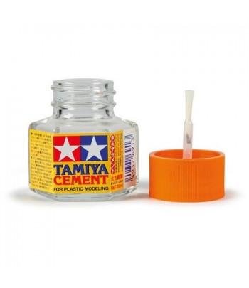 Клей 20 мл (оранжевая крышка) TAMIYA 87012