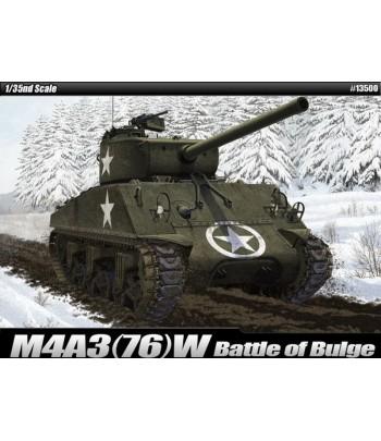 Американский танк M4A3(76)W Battle of Bulge ACADEMY13500