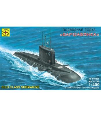 """Подводная лодка """"Варшавянка"""" (1:400) МОДЕЛИСТ 140055"""