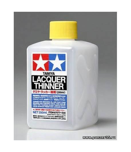Lacquer Thinner Растворитель для жидкой грунтовки 250 мл. TAMIYA 87077
