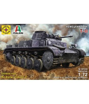 Немецкий танк Т-II (1:72) МОДЕЛИСТ 307244