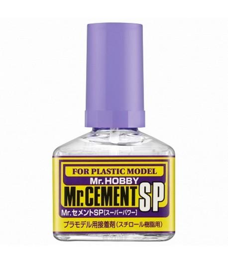 Клей Mr.Cement SP (сверхтекучий, быстросохнущий), 40 мл GUNZE SANGYO GSMC131
