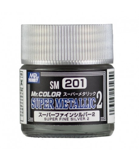 SM201 Краска художественная SUPER FINE SILVER 2 (Супер Чистое Серебро 2) GUNZE SANGYO