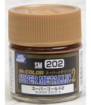 SM202 Краска художественная SUPER GOLD 2 (Супер Золото 2) GUNZE SANGYO
