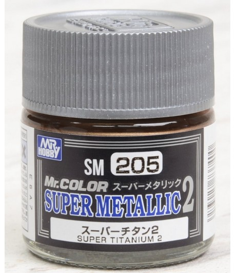 SM205 краска художественная SUPER TITANUM 2 10мл (супер титан 2) GUNZE SANGYO